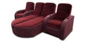 fortress home cinema seating