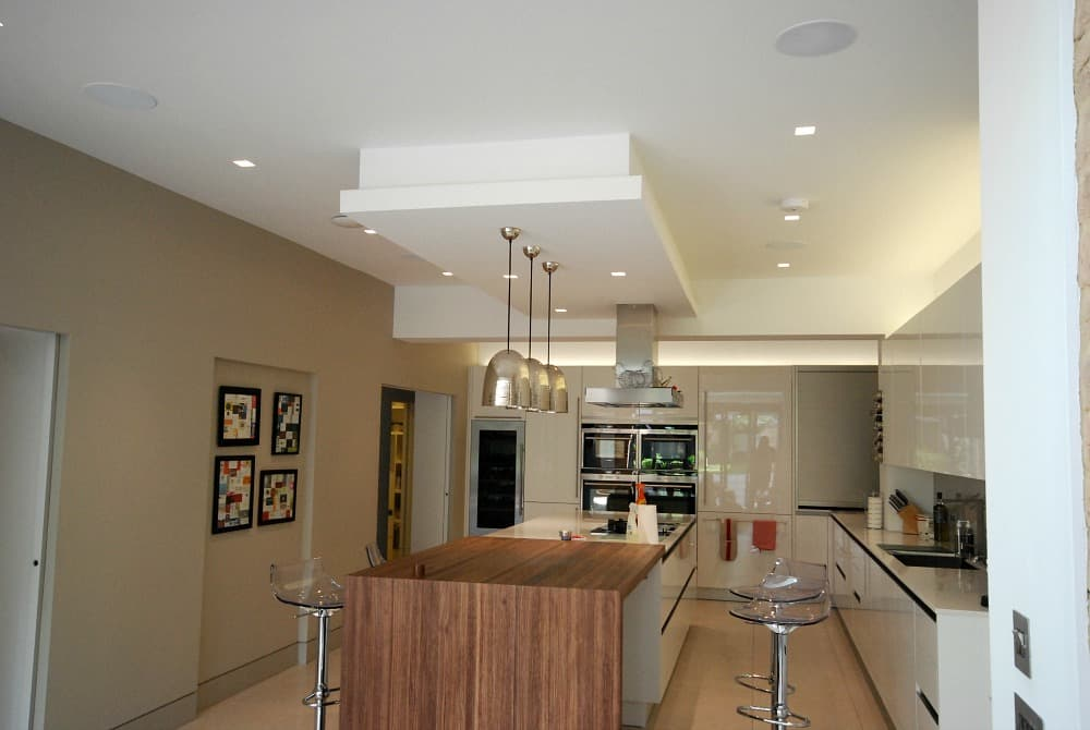 Smart lighting installation in Northwood