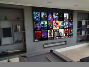 Home cinema installation in Northwood